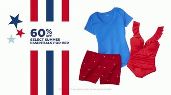 JCPenney 4th of July Sale TV Spot, 'Essentials, Tees and Luggage' - Thumbnail 4