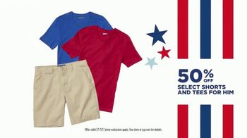 JCPenney 4th of July Sale TV Spot, 'Essentials, Tees and Luggage' - Thumbnail 5