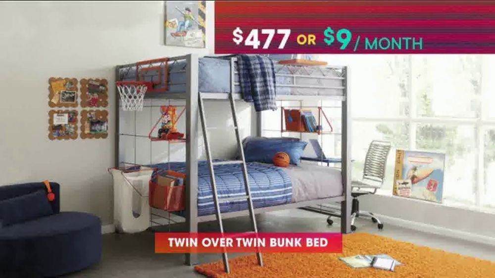 Rooms To Go Beds >> Rooms To Go Kids Teens Tv Commercial July 4th Hot Buys Day Bed And Bunk Beds Video