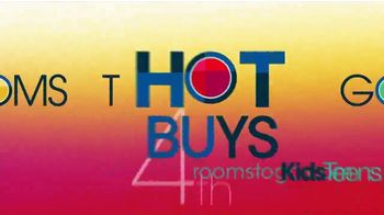 Rooms to Go Kids & Teens TV Spot, 'July 4th Hot Buys: Day Bed and Bunk Beds' - Thumbnail 9