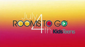 Rooms to Go Kids & Teens TV Spot, 'July 4th Hot Buys: Day Bed and Bunk Beds' - Thumbnail 2