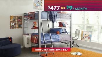 Rooms to Go Kids & Teens TV Spot, 'July 4th Hot Buys: Day Bed and Bunk Beds' - Thumbnail 6