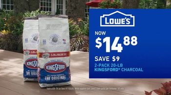 Lowe's TV Spot, 'July 4th: Charcoal and Mulch' - Thumbnail 4