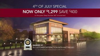 Sleep Number 4th of July Special TV Spot, 'Hit the Ground Running: Save $400' - Thumbnail 8