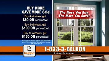 Beldon Windows Buy More, Save More Sale TV Spot, 'Give Your Home an Energy Upgrade' - Thumbnail 6