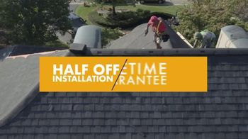 1-800-HANSONS TV Spot, 'Fireworks: Storm-Resistant Roofing'