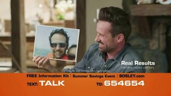 Bosley Summer Savings Event TV Spot, 'Summer of Not 1970'
