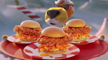 KFC Cheetos Sandwich TV Spot, 'Howdy, Colonel Chester!' - Thumbnail 6