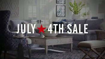 Bassett 4th of July Sale TV Spot, 'Furniture and Area Rugs: Save 33 Percent' - Thumbnail 7