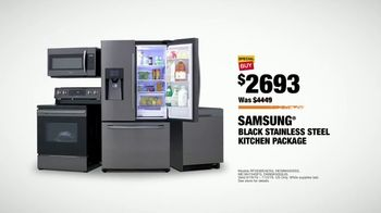 The Home Depot TV Spot, 'Fuel Your Team: Samsung Kitchen Package' - Thumbnail 10
