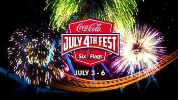 Six Flags July 4th Fest TV Spot, 'Early Ride Times and Fireworks' Song by John Philip Sousa
