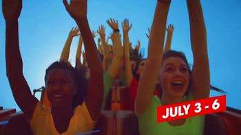Six Flags July 4th Fest TV Spot, 'Early Ride Times and Fireworks' Song by John Philip Sousa - Thumbnail 4