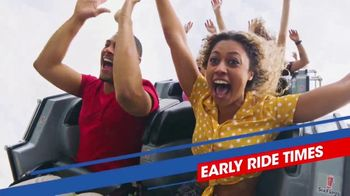 Six Flags July 4th Fest TV Spot, 'Early Ride Times and Fireworks' Song by John Philip Sousa - Thumbnail 6