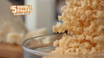 Popeyes $5 Parmesan Ranch Double Dippers TV Spot, 'Una vez y otra vez' [Spanish] - Thumbnail 4