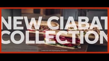 Subway Ciabatta Collection TV Spot, 'Ciabatta Believe It!' - Thumbnail 8