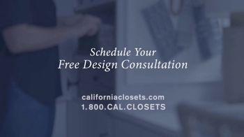 California Closets TV Spot, 'My Life with California Closets: Crystal's Story' - Thumbnail 9