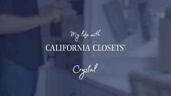 California Closets TV Spot, 'My Life with California Closets: Crystal's Story' - Thumbnail 8