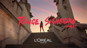 L'Oreal Paris Rouge Signature Sunset TV Spot, 'More Colors'
