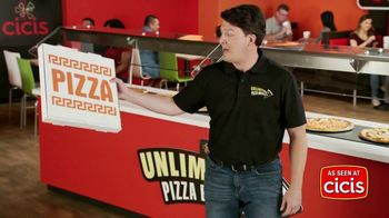 CiCi's Unlimited Pizza Buffet TV Spot, 'It's Unbeatable. Unbelievable. UNLIMITED!'