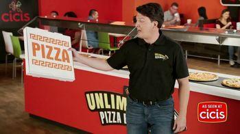 CiCi's Unlimited Pizza Buffet TV Spot, 'It's Unbeatable. Unbelievable. UNLIMITED!'