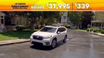 Subaru Summer All-Wheel Drive Away TV Spot, 'Summer Song: Ascent' [T2] - Thumbnail 2