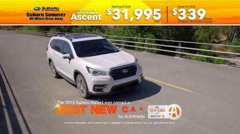 Subaru Summer All-Wheel Drive Away TV Spot, 'Summer Song: Ascent' [T2] - Thumbnail 4