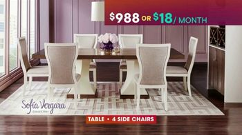 Rooms to Go TV Spot, 'July 4th Hot Buys: Sofia Vergara Dining Set'
