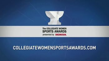 The Collegiate Women Sports Awards TV Spot, 'The Honda Cup' - Thumbnail 7