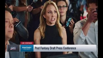 NFL Fantasy Football TV Spot, 'Live Coverage' Featuring Lindsay Rhodes, Michael Fabiano - Thumbnail 2