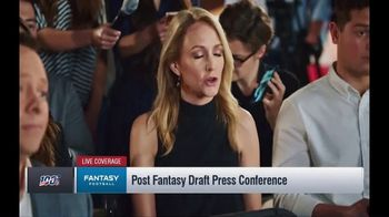 NFL Fantasy Football TV Spot, 'Live Coverage' Featuring Lindsay Rhodes, Michael Fabiano - Thumbnail 3