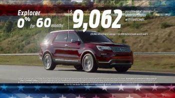 Ford 4th of July Sellathon TV Spot, 'Explorer' [T2] - Thumbnail 3