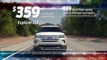 Ford 4th of July Sellathon TV Spot, 'Explorer' [T2] - Thumbnail 5