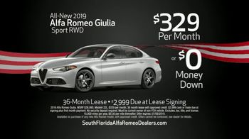 Alfa Romeo 4th of July Sale TV Spot, 'Independence From the Norm' [T2] - Thumbnail 4