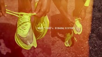 Nike Zoom TV Spot, 'The Dibaba Sisters' Featuring Tirunesh Dibaba, Genzebe Dibaba & Ejegayehu Dibaba - Thumbnail 2