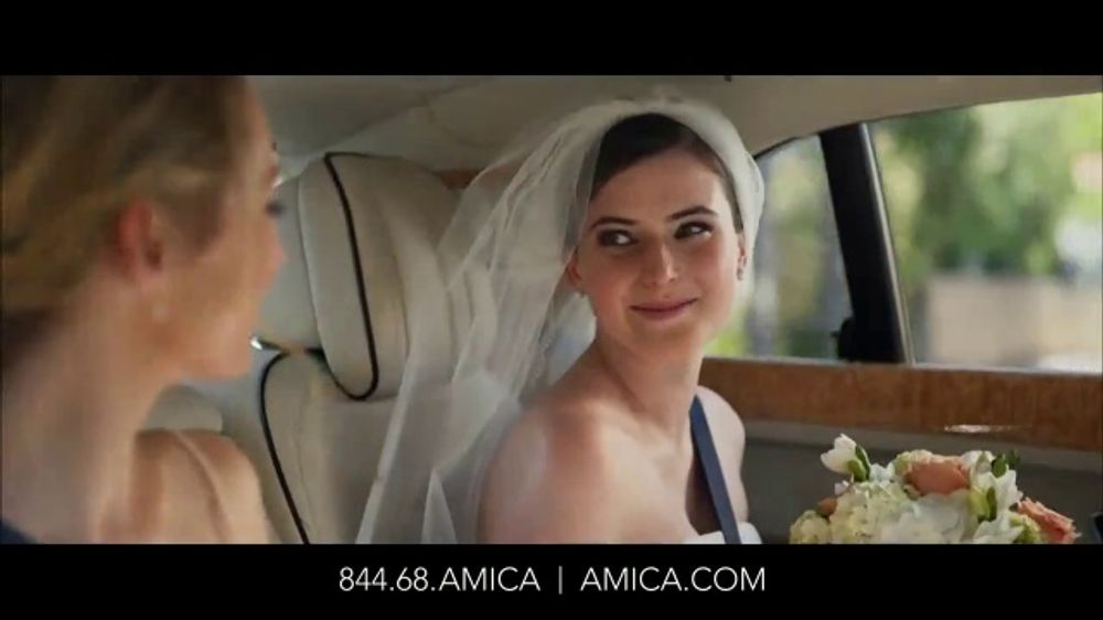 State Farm 24 Hour Roadside Assistance >> Amica Mutual Insurance Company TV Commercial, 'Bride' - iSpot.tv