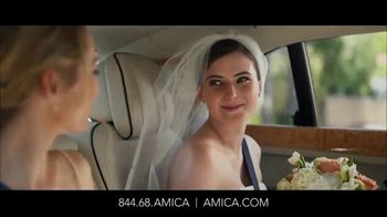 Amica Mutual Insurance Company TV Spot, \'Bride\'