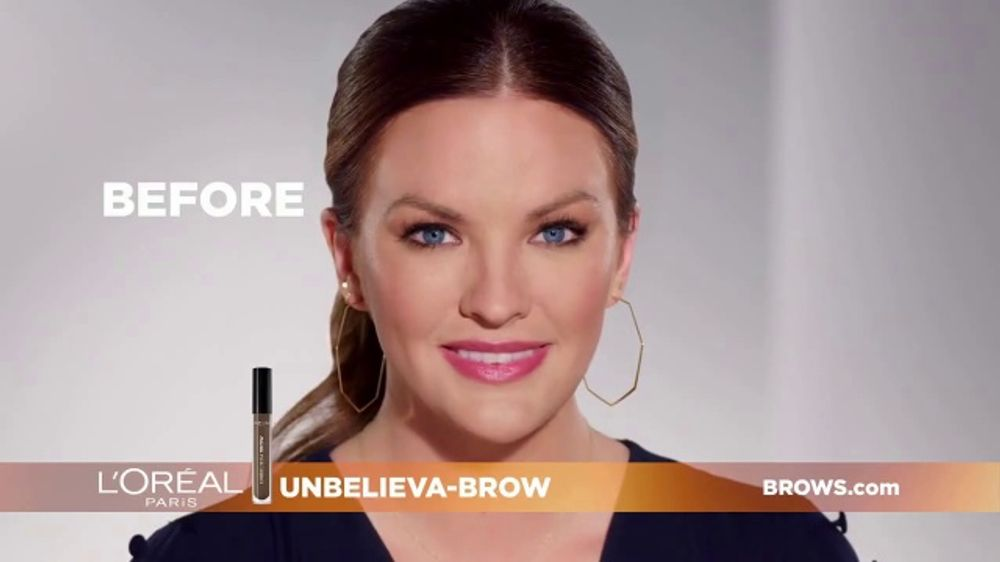 L'Oreal Paris Unbelieva-Brow TV Commercial, 'Sparse Eyebrows' Featuring Becca Tilley, Sir John