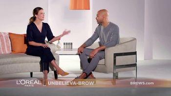 L'Oreal Paris Unbelieva-Brow TV Spot, 'Sparse Eyebrows' Featuring Becca Tilley, Sir John - Thumbnail 2