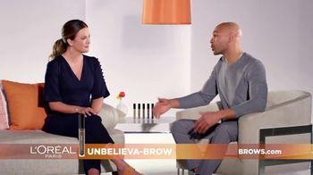 L'Oreal Paris Unbelieva-Brow TV Spot, 'Sparse Eyebrows' Featuring Becca Tilley, Sir John - Thumbnail 4
