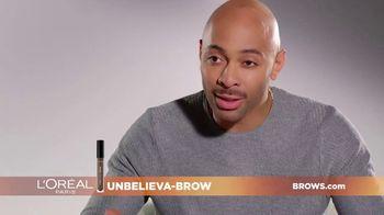 L'Oreal Paris Unbelieva-Brow TV Spot, 'Sparse Eyebrows' Featuring Becca Tilley, Sir John - Thumbnail 5