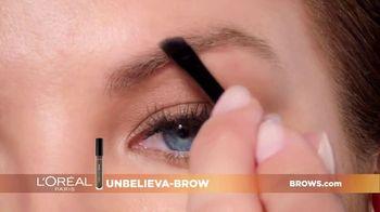 L'Oreal Paris Unbelieva-Brow TV Spot, 'Sparse Eyebrows' Featuring Becca Tilley, Sir John - Thumbnail 7