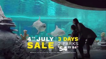 SeaWorld 4th of July Sale TV Spot, 'Feels Amazing: 3 Days, 2 Parks' - Thumbnail 9
