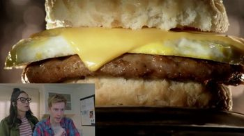 Jack in the Box 2-for-$4 Breakfast Biscuits TV Spot, \'Reactions: I Want It\'