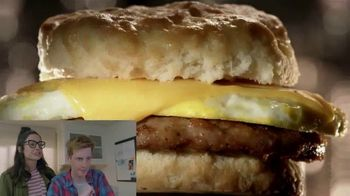 Jack in the Box 2-for-$4 Breakfast Biscuits TV Spot, 'Reactions: I Want It' - Thumbnail 6
