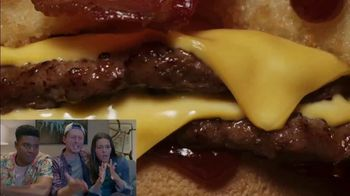 Jack in the Box BBQ Bacon Double Cheeseburger TV Spot, 'Reactions: J-Bo' - 379 commercial airings