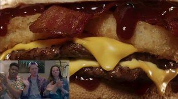 Jack in the Box BBQ Bacon Double Cheeseburger TV Spot, 'Reactions: J-Bo' - Thumbnail 5