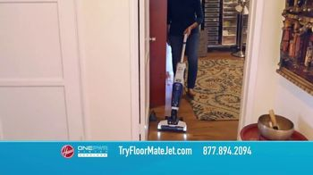 Hoover ONEPWR FloorMate Jet TV Spot, 'Vacuum, Wash and Suction' - Thumbnail 7