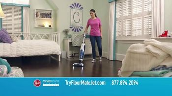 Hoover ONEPWR FloorMate Jet TV Spot, 'Vacuum, Wash and Suction'