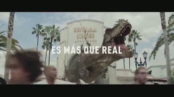 Universal Studios Hollywood TV Spot, 'Jurassic World the Ride: más que real' [Spanish]