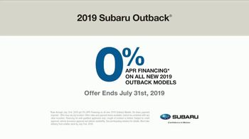 2019 Subaru Outback TV Spot, 'Never Too Early' Song by Julie Doiron [T2] - Thumbnail 9
